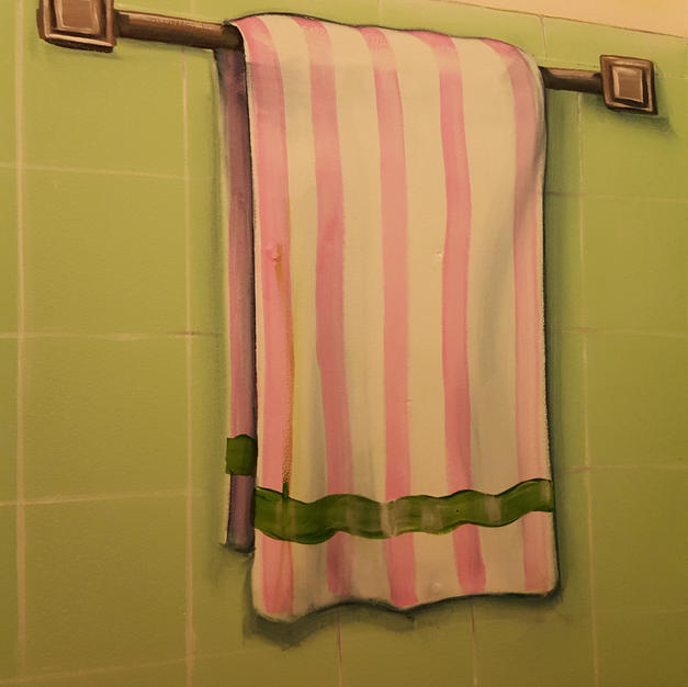 Trompe L'oeil Towel