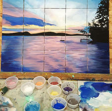 Process of Creating a Tile Mural
