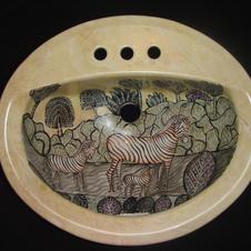 Zebra Sink