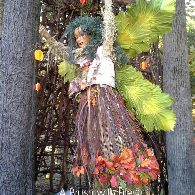 Hanging Fairy Sculpture