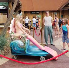 Mermaid Chair Side View