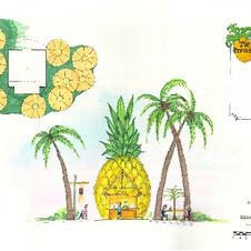 Pineapple Hut at Castaway Island