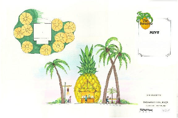 Pineapple Hut at Castaway Island