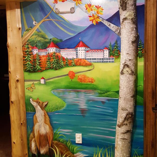 Mount Washington Hotel Children's Mural