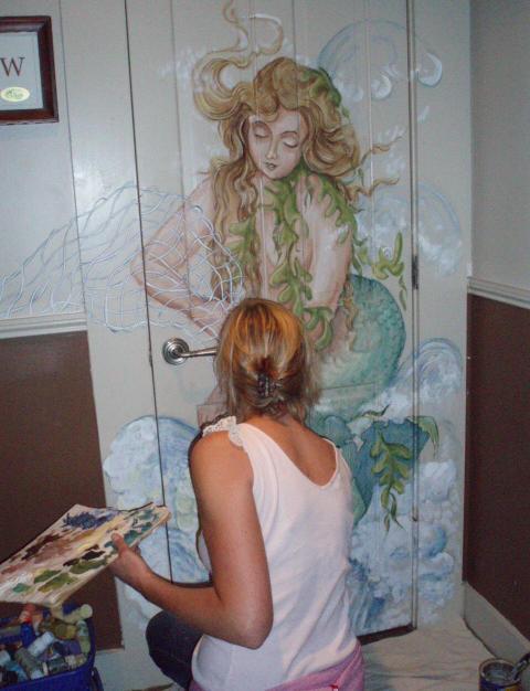 Painting a Mermaid