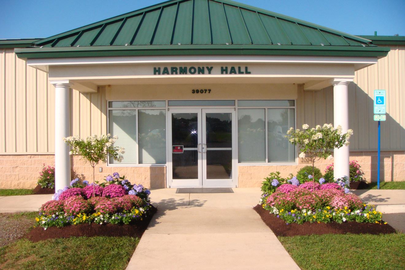 Harmony Hall Entrance