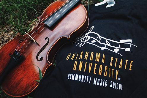 Oklahoma State University, OSUCMS, Community Music School, Stillwater Music, Viola, Cello, Bass, Violin, Trumpet, Tuba, Clarinet, Flute
