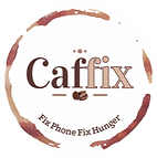 Caffix Fix Phone Fix Hunger Logo.png