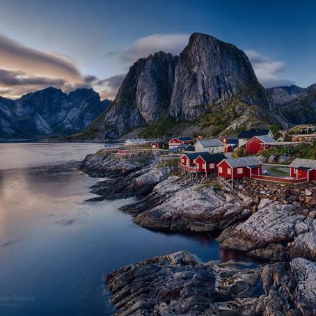 Місця для відпочинку.                                                   Норвегія