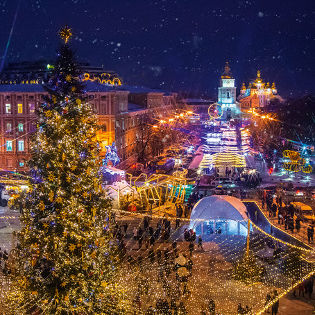 New Year 2020 in Kyiv