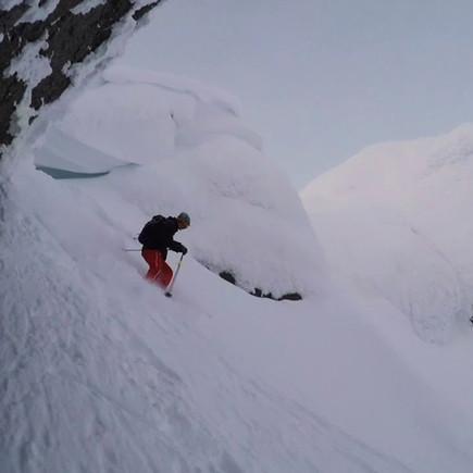 Khibiny ski tour in January