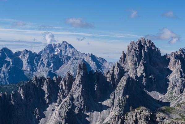Доломитовые Альпы, вид с маршрута