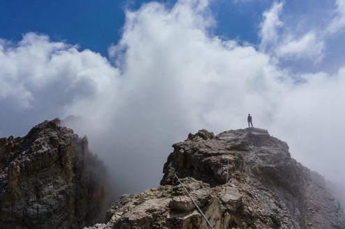 Вершина горы Кристалло