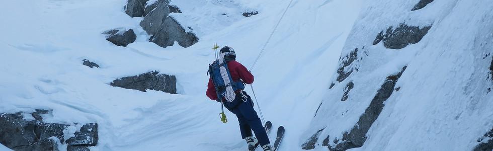 Скиальпинизм на Кавказе с гидом Сергеем Шестихиным