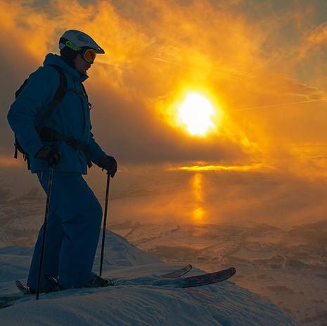 December in Khibiny Mountains