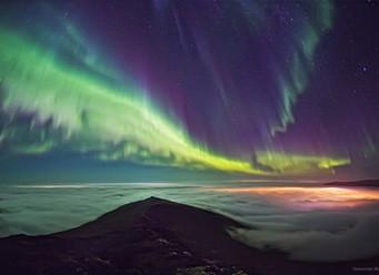 Полярная ночь и северное сияние в Хибинах. Мифы и факты