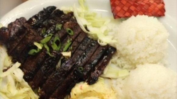 Cafe Kalawe Warrior Plate