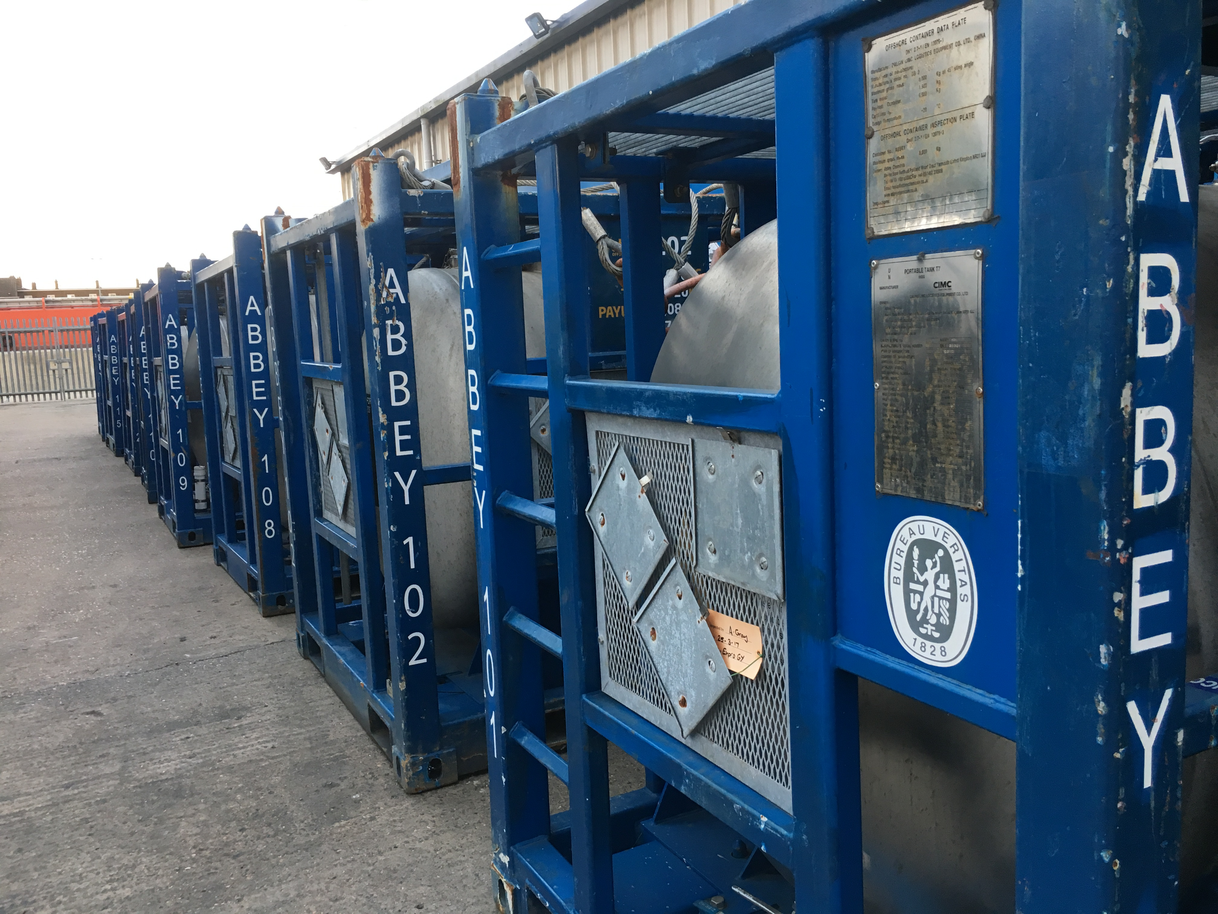 Abbey Offshore Tote Tanks