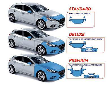 Different levels of paint protection offered by Santa Rosa Window Tint