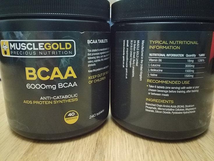 Muscle-Gold BCAA 6000mg