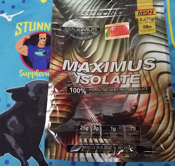 Maximus Isolate. The New Misson FX / Muscleculture