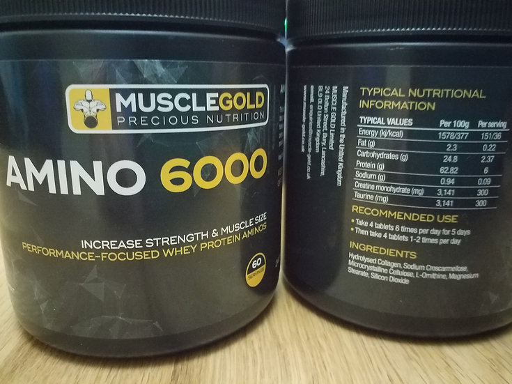 Muscle-Gold AMINO 6000
