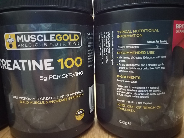 Muscle-Gold Creatine 100