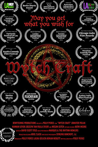 Stripped back poster Wytch craft poster