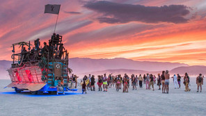 Festival Burning Man 2019 e sua estrutura.