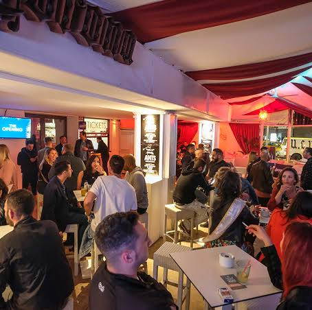 The tantra bar in ibiza, located in playa D'en Bossa, is a great option for Pacha and Hi Ibiza goers