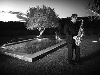 François accompagne votre cocktail avec son saxophone dans une ambiance chaudes et envoutantes.