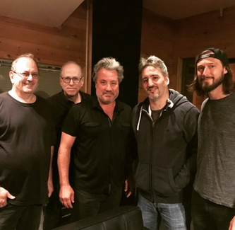 Kinky Boots rhythm section at Quad Recording/NYC