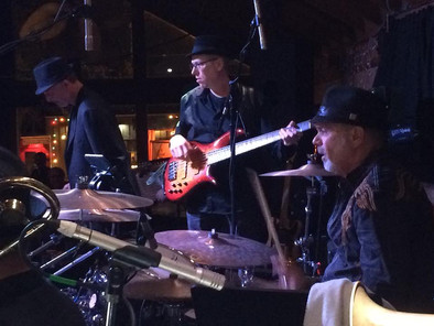 (L-R) Peter Fish, Me and Danny Seraphine