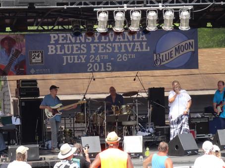 Vaneese Thomas Band at the PA Blues Festival