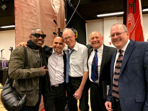 After show hang with Steve Jordan, NDI, NYC