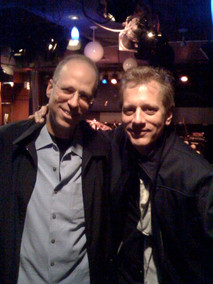 My old bud Dave Weckl on a visit to NYC