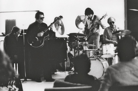 (L-R) Neil Slater, Sal Salvador, Me & Joe Morello