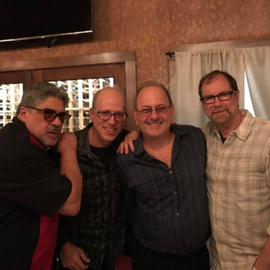 Reunion with Crazy Horse owner & Soprano's star Vinny Pastore with Al Orlo & Andy Bloch