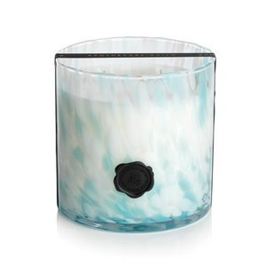 Apothecary Guild Opal Glass Three-Wick Candle Jar