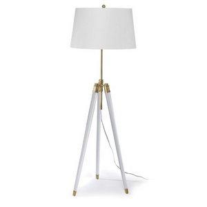Brigitte Floor Lamp (Polished Nickel)