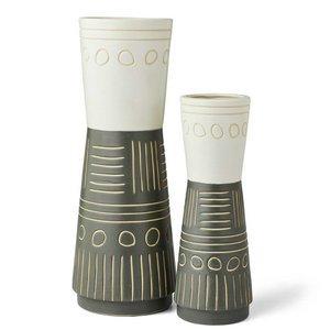 Egyptian Inspired Vases