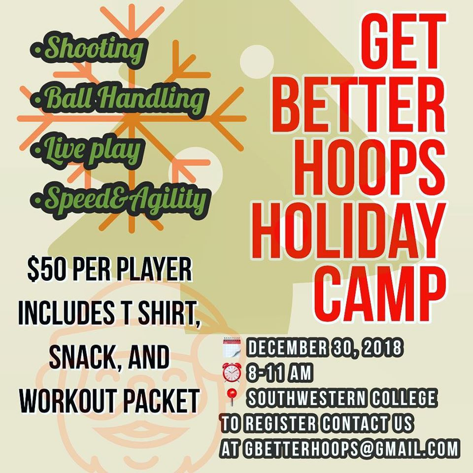 2018 SAN DIEGO HOLIDAY BASKETBALL CAMP
