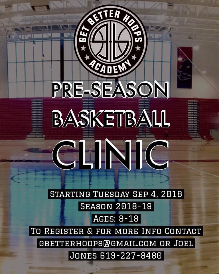 2018 SAN DIEGO PRE SEASON BASKETBALL CLI