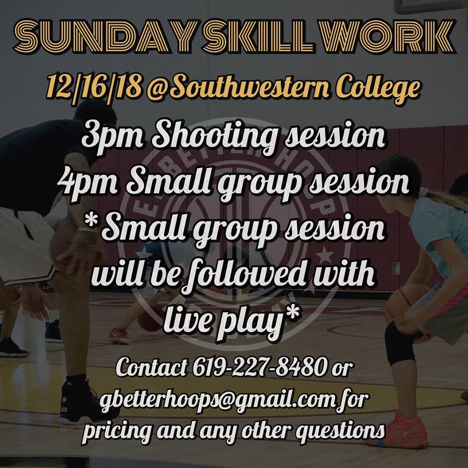 SAN DIEGO BASKETBALL SKILL CLASSES