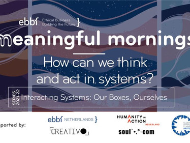 24th Sept - ebbf meaningful mornings series