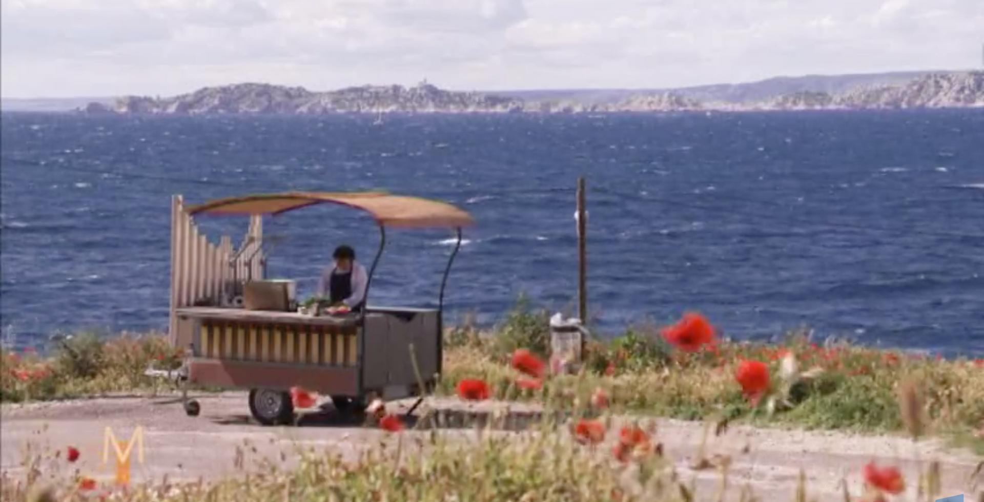 Marsilya'da TV Programı seti