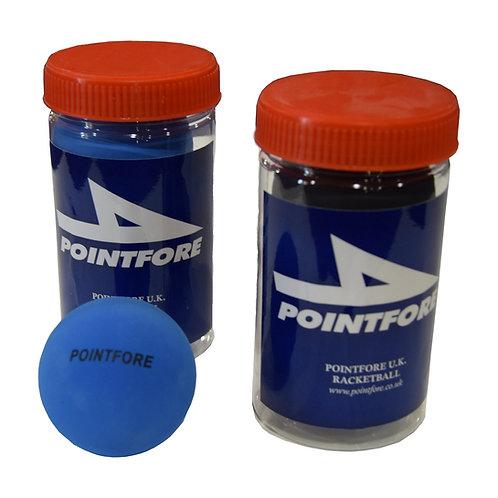 Pointfore Racketball Balls Tube