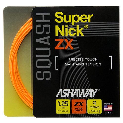 Ashaway Super Nick ZX 1.25mm String + Restring Service