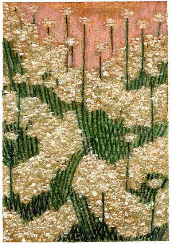 Untitled, 10.5 x 15.1 cm, pastel, pencil