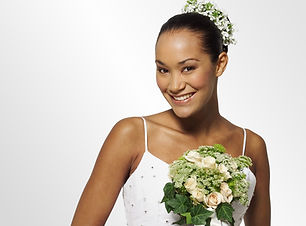Happy Bride Holding a Flower Bouquet - Best marriage photographers in the Middle East
